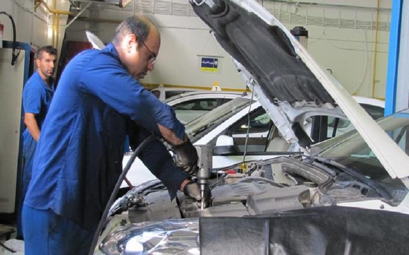 بازار تعمیرگاههای خودرو در سرما داغ شد