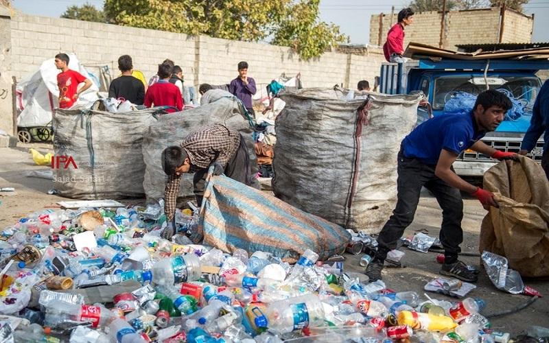 مرگ سیاه کودکان زبالهگرد