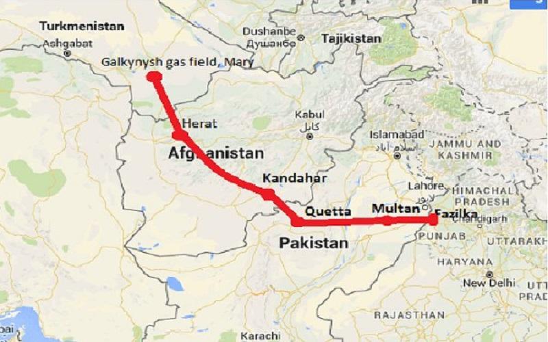 سرمایهگذاری عربستان سعودی در خط لوله گاز «تاپی»