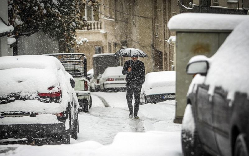 برف تامین آب پایتخت را مختل نکرد