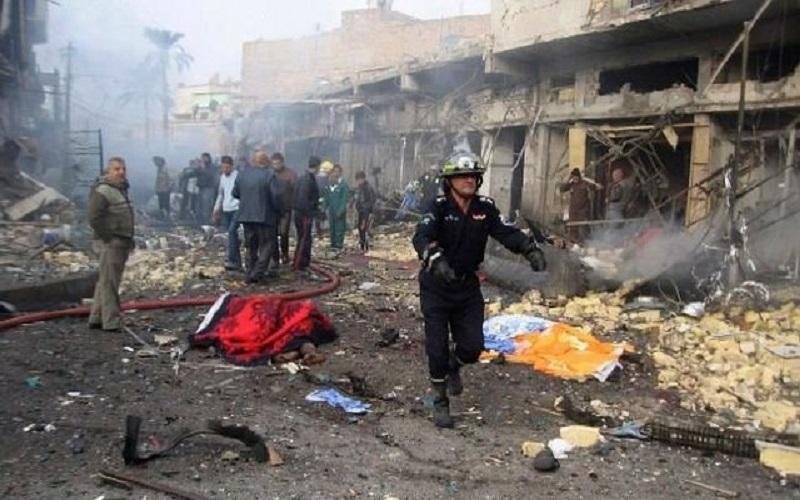 انفجار در میدان الطیران در بغداد