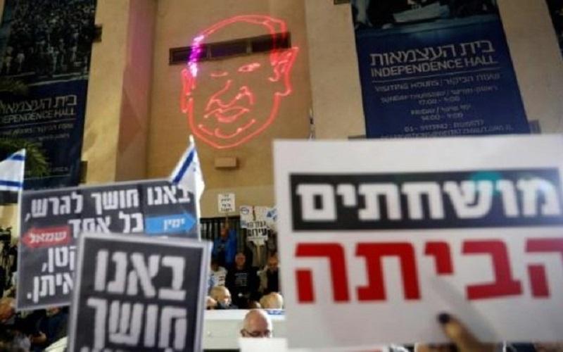 تظاهرات اسرائیلیها علیه فساد نتانیاهو و دولتش