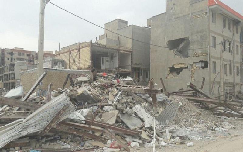 پسلرزه ۵٫۱ ریشتری ۲ ساختمان را آوار کرد