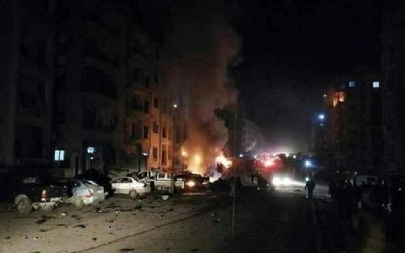 دهها کشته و زخمی در انفجار خودروی بمبگذاری شده در ادلب