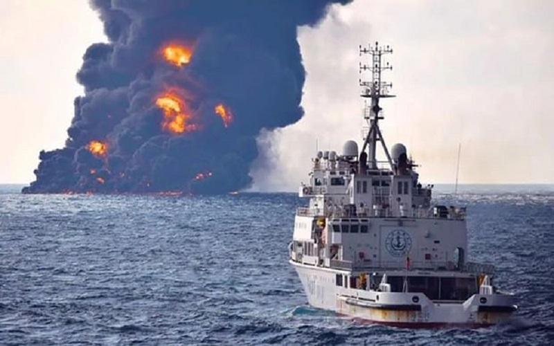 باز شدن جعبه سیاه دو کشتی حادثه سانچی بهطور همزمان