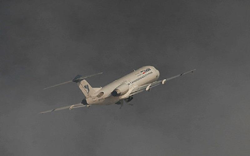 لغو ۶ پرواز ورودی فرودگاه اهواز به دلیل گردوغبار