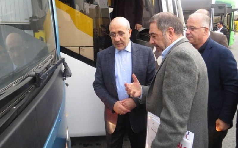 تولید 80 درصد اتوبوس کشور در سمنان