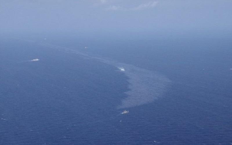 دامنه گسترش آلودگی نفتی سانچی چقدر خواهد بود