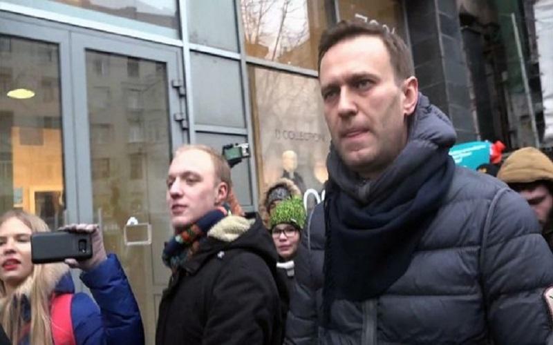 تظاهرات علیه پوتین+تجارت نیوز