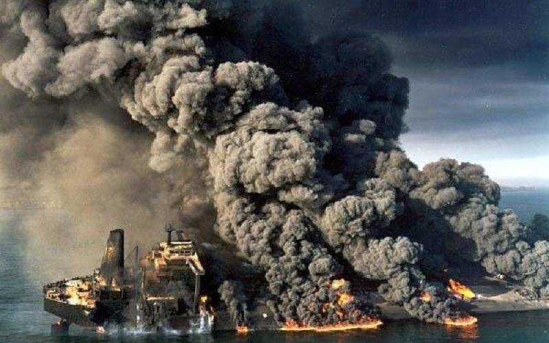 ترجیح چینیها، سوختن نفتکش سانچی بود