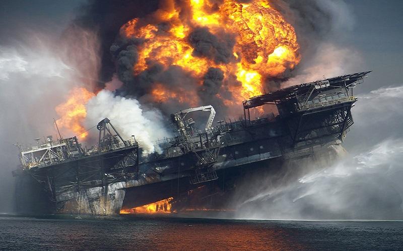 سکوی نفتی در اوکلاهامای آمریکا منفجر شد