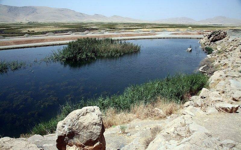 خشکی تالاب «هشیلان» در زمستان سابقه نداشته است