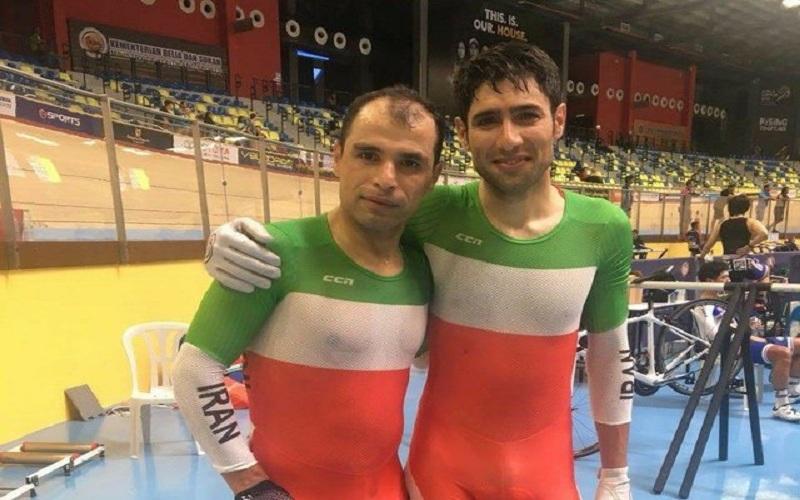 مدال نقره ایران در مدیسون دوچرخهسواری قهرمانی آسیا