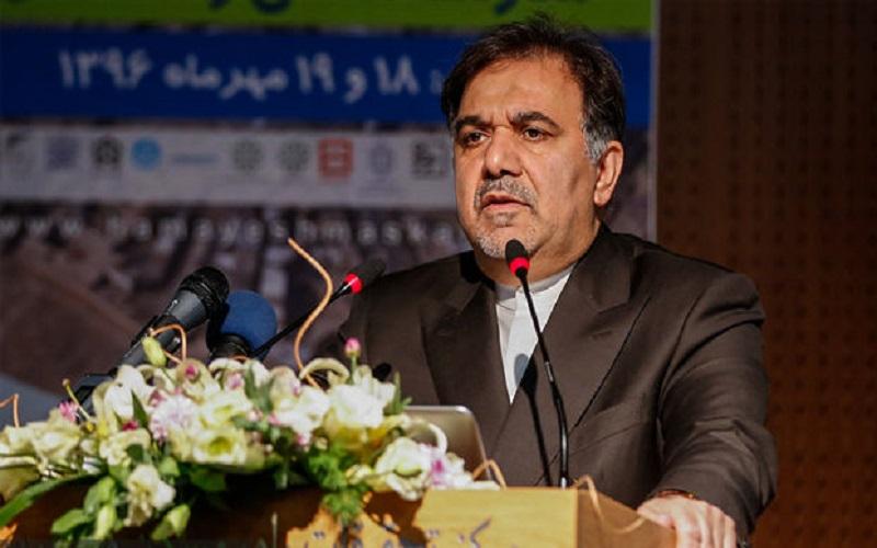 بازدید وزیر راه و شهرسازی از بزرگراه تبریز-هریس-اهر