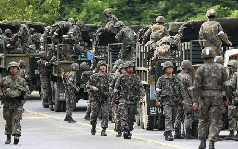 طرح جدید مانور مشترک کرهجنوبی با آمریکا تا پیش از آوریل