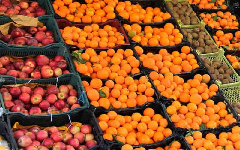 دلایل گرانی میوه در بازار