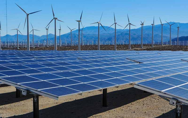تولید 500 مگاوات انرژی از طریق نیروگاههای خورشیدی و بادی