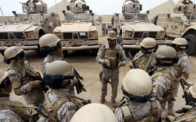 کشته شدن هفت نظامی سعودی در جنوب عربستان