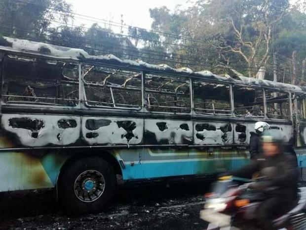 انفجار اتوبوسی در سریلانکا با ۱۹ زخمی