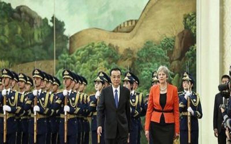 چین و انگلیس ۱۲ توافقنامه امضا کردند