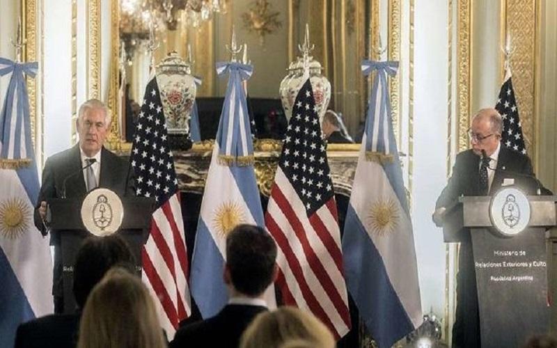 ونزوئلا هدف تحریمهای آمریکا قرار گرفت