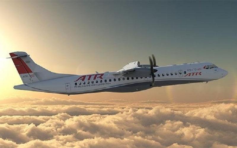 هواپیمای «ای تی آر» آسمان با ۶۵ مسافر سقوط کرد