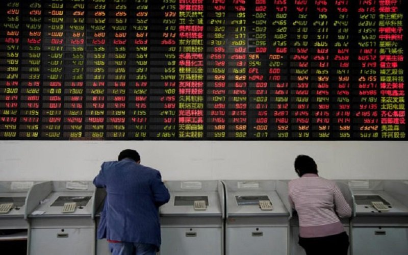 ریل سهام آسیایی همچنان در سیر نزولی