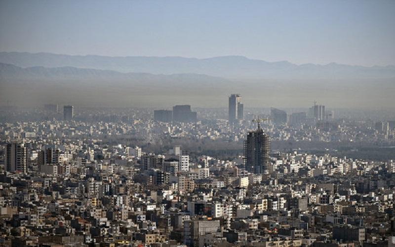 کیفیت هوای مشهد در شرایط ناسالم