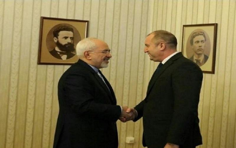 دیدار وزیر امور خارجه ایران با رئیسجمهور بلغارستان