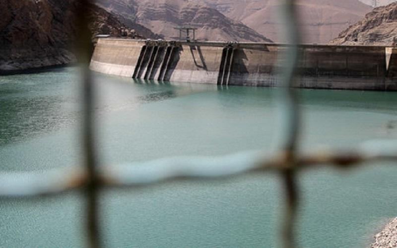 ذخیره آب سدهای کرج و طالقان کاهش یافت