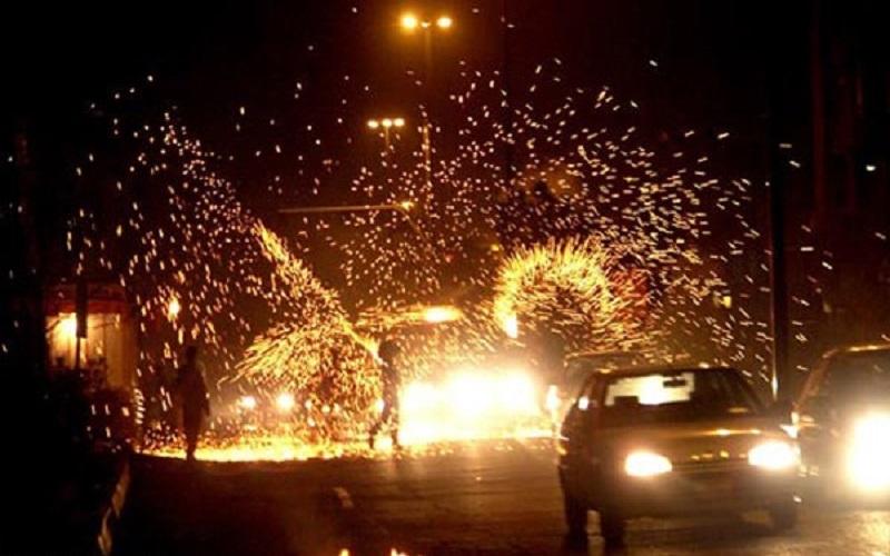 خودروهای هنجارشکن چهارشنبه سوری توقیف میشوند