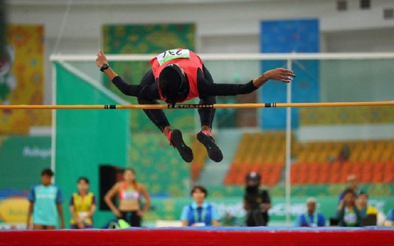 سپیده توکلی رکورد پرش ارتفاع را شکست