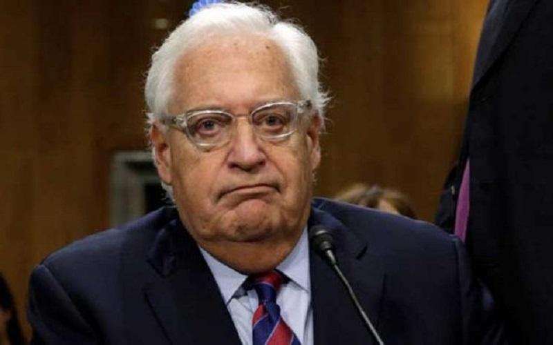 سفیر آمریکا بار دیگر فلسطینیها را عصبانی کرد
