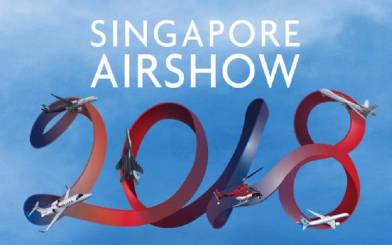 آغاز به کار نمایشگاه هوایی سنگاپور ۲۰۱۸
