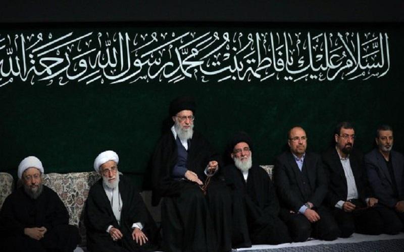 برگزاری دومین شب مراسم عزاداری حضرت زهرا (س) با حضور رهبر انقلاب