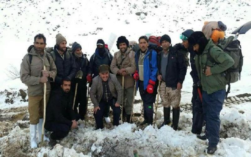 ۹ کوهنورد مفقود شده در دنا پیدا شدند