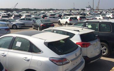 واردات ۶۶ هزار دستگاه خودرو در سال ۹۶