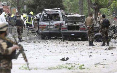 انفجار در هتلی در جلال آباد افغانستان