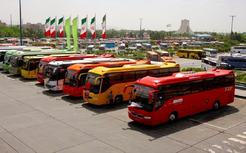 مردم از سفر نوروزی با اتوبوس استقبال نکردند