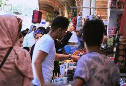 تورم نروزی شب عید بازار