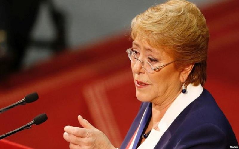 رئیسجمهوری شیلی قانون اساسی جدیدی به کنگره میدهد