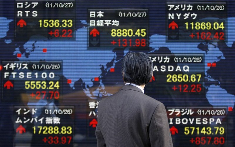 کاهش ارزش دلار و صعود بورس آسیا