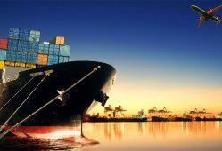 تجارت بینالملل کسبوکار بندر کشتی