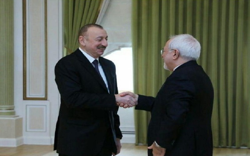 ظریف و الهام علیاف دیدار کردند