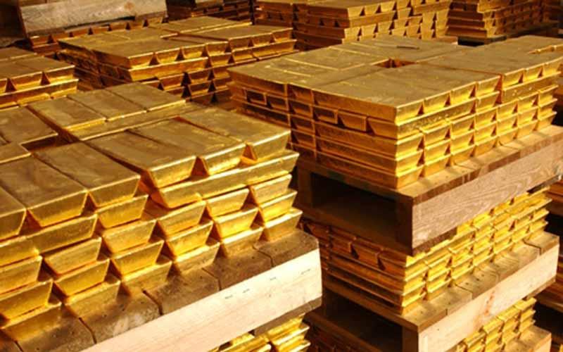 کشورهایی که بیشترین ذخایر طلای جهان را دارند