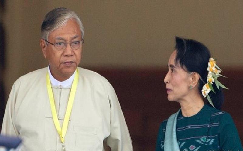 رئیسجمهوری میانمار استعفا کرد