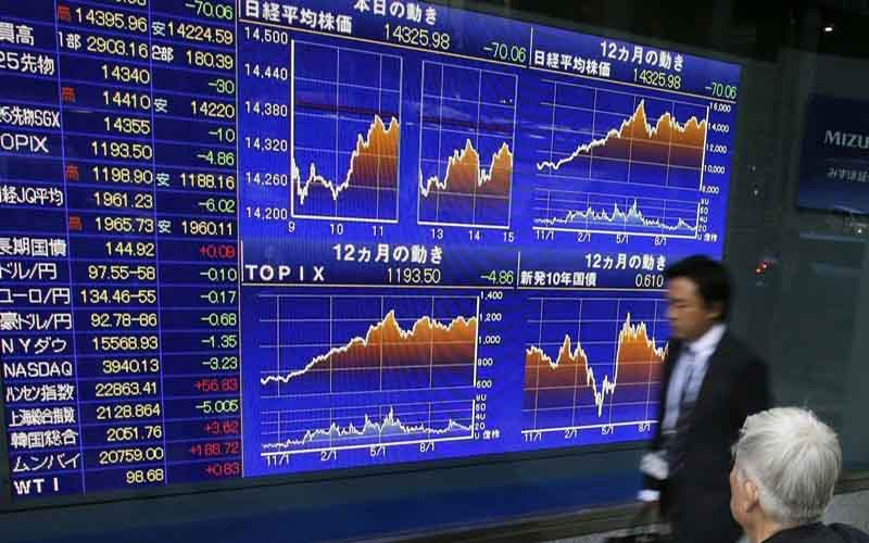 سهام آسیایی در انتظار نتایج اجلاس بانکهای مرکزی افت کرد