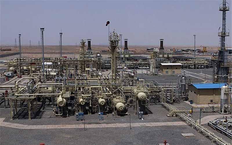میزان  تولید گاز از مخازن مزدوران و شوریجه