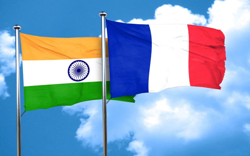امضای 20 قرارداد تجاری بین هند و فرانسه