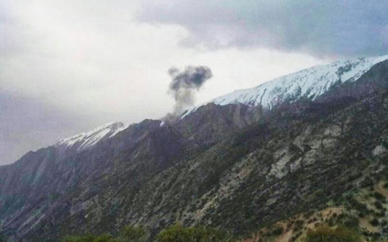 سقوط یک هواپیمای ترکیهای در حریم هوایی ایران